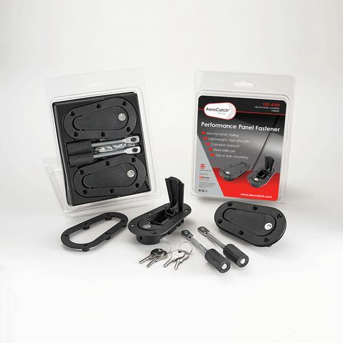 AeroCatch 120-4100 Xtreme Flush Plus Black Hood Pin Pair Latch Locking Steel Pin