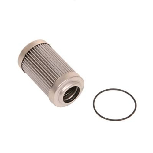 Aeromotive 12635 Replacement Fuel Filter Element 40-Micron Stainless for 12335