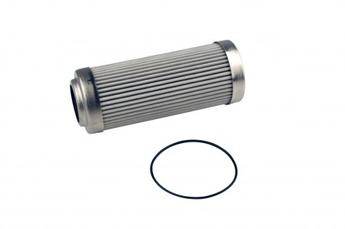 Aeromotive 12639 Replacement Fuel Filter Element 10-Micron Microglass for 12AN