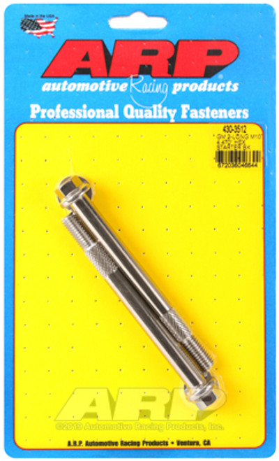 ARP 430-3512 Stainless Steel Starter Bolts - GM LS Engines - Hex Head - 10mm