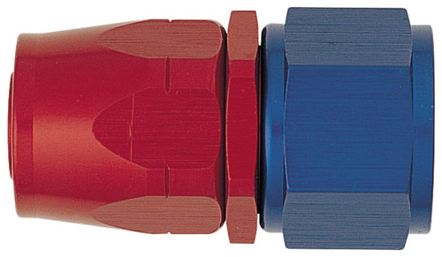 XRP 100006 -6AN Female Hose End - For -6AN Braided Hose Red/Blue Anodized - Each