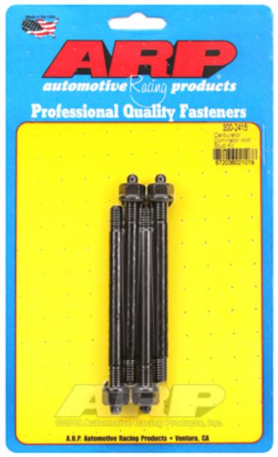 "ARP 200-2415 Carburetor Stud Kit - 5/16"" - 4.400"" Overall Length - Black Oxide"