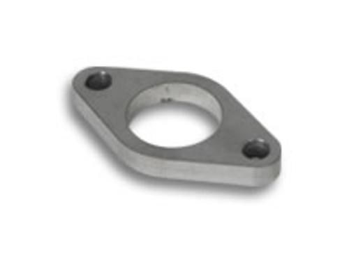 Vibrant 14370 Wastegate Mounting Flange - 38mm 2 Bolt Threaded Flange Mild Steel