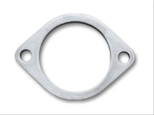 """Vibrant 1472S Exhaust Collector Flange - T304SS - 2-Bolt - 2.5"""" ID - 3/8"""" Thick"""