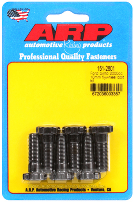 "ARP 151-2801 Flywheel Bolt Kit - Ford 2.0L (2000cc)- 12 Point Head - 1.150"" UHL"