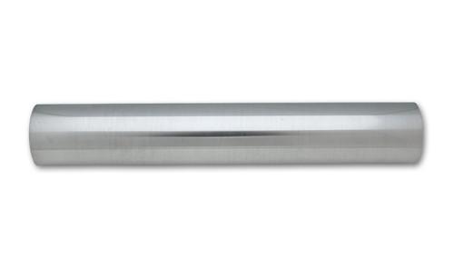 "Vibrant 2171 Straight Air Intake Tube 6061 Polished Aluminum - 1.5"" - 18"" Long"