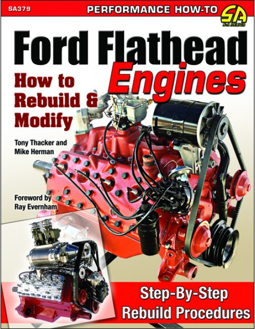 SA Designs SA379 Book - How to Rebuild & Modify Ford Flathead Engines 144 Pages