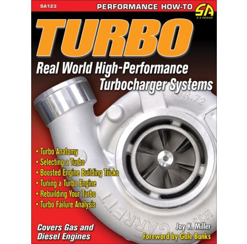 SA Designs SA123 Book - Real World High Performance Turbocharger Systems 160pgs
