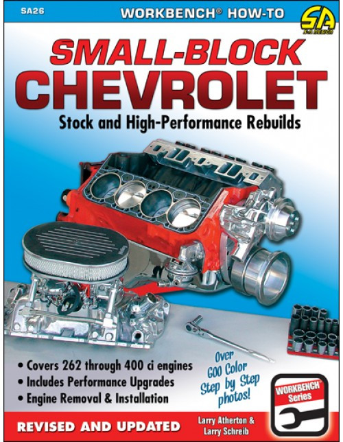 SA Designs SA26 Book - Small Block Chevrolet Stock and High Performance Rebuilds