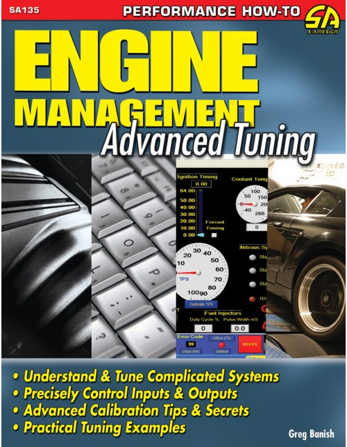 SA Designs SA135 Book - Engine Management Advanced Tuning  - 128 Pages
