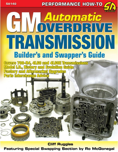 SA Designs SA140 Book - GM Automatic Overdrive Transmission Build/Swap Guide