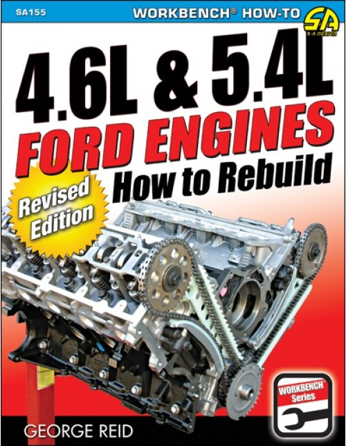 SA Designs SA155 Book - How to Rebuild 4.6/5.4L Ford Engines Revised Edition
