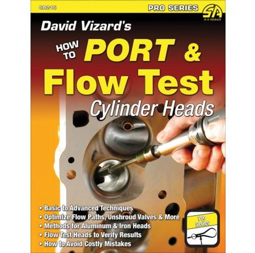 SA Designs SA215 Book - David Vizard's How to Port and Flow Test Cylinder Heads