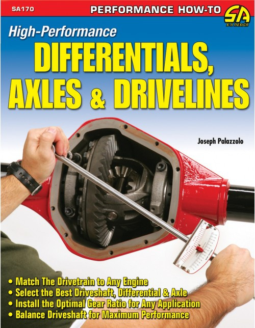 SA Designs SA170 Book High Performance Differentials, Axles & Drivelines 144pgs
