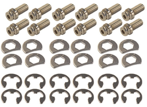 """Stage 8 8911 Locking Header Bolts - Small Block Chevy Set of 12 - 3/4"""" Long"""