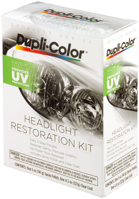 Dupli-Color Paint HLR100 Dupli-Color Head Light Restoration Kit