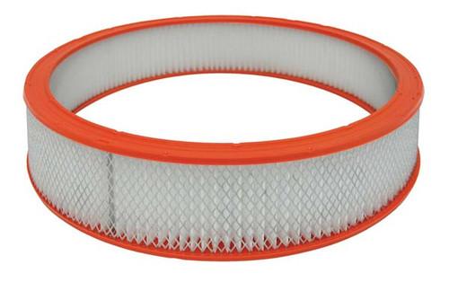 "Moroso 97080 Paper Air Filter Element - Round - 14"" Diameter - 3"" Height"