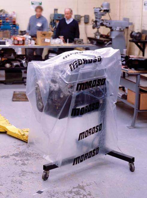 Moroso 99400 Heavy Duty Engine Storage Bag - Clear - 4 Mil Thick - Each