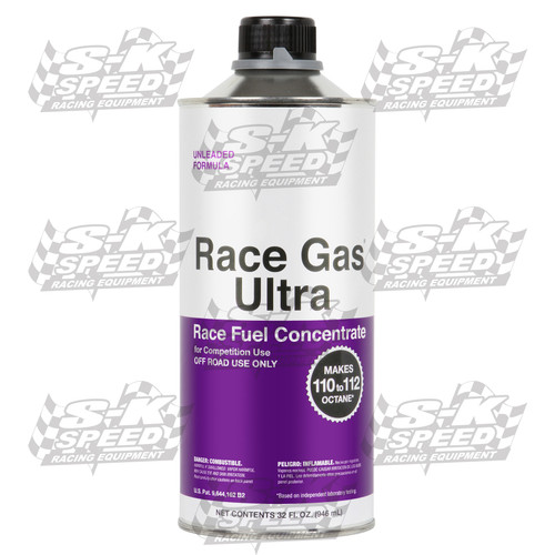 Race Gas Ultra 200032 Turn Pump Gas into Race Gas! Up to 112 Octane 32oz