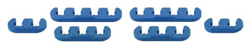 Moroso 72160 Spark Plug Wire Separators - Blue - 7-9mm Wires - Set of 6