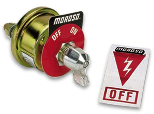 Moroso 74100 Battery Disconnect Switch - 20 Amp Continuous - 125 Amps Surge
