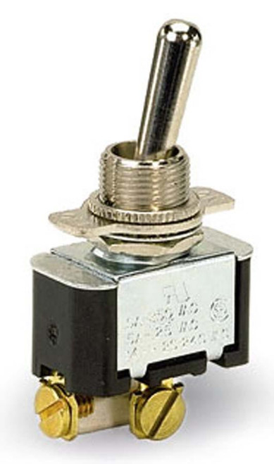 Moroso 74126 Universal Toggle Switch - On/Off Single Throw - 20 Amp - 12 Volts