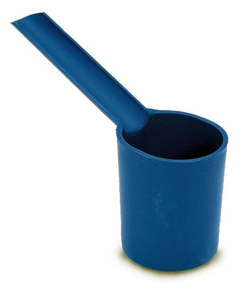 Moroso 65805 Carburetor Bowl Drain Cup - Blue - Fuel Resistant Polyethylene