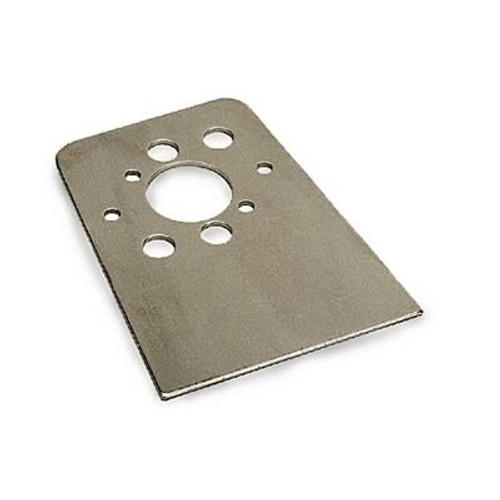 Moroso 71551 Dzus Quick Fastener Mounting Brackets - Weld In or Rivet - 10 Pack