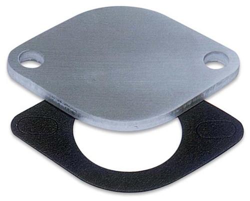 "Moroso 63471 Water Neck Block Off Plate - Chevy V8 - 1/4"" Aluminum"