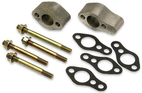 Moroso 63510 Aluminum Water Pump Spacer Kit - SBC - Spaces Short to Long Pump