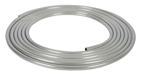 """Moroso 65345 Aluminum Fuel Line - 5/8"""" OD - 25' Coil - .035"""" Wall Safe to 35psi"""