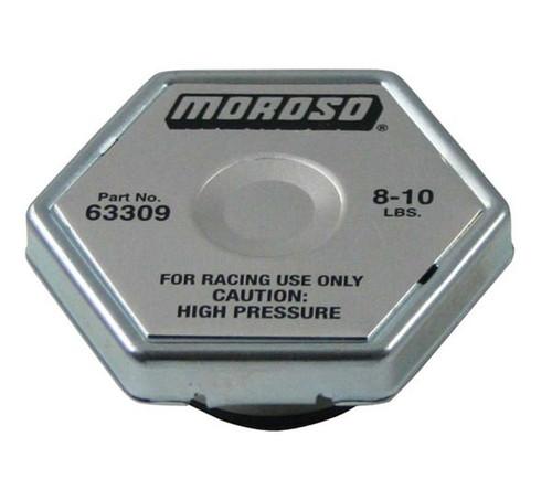Moroso 63309 Racing Radiator Cap - 8-10 psi - Hex Head - Standard Size