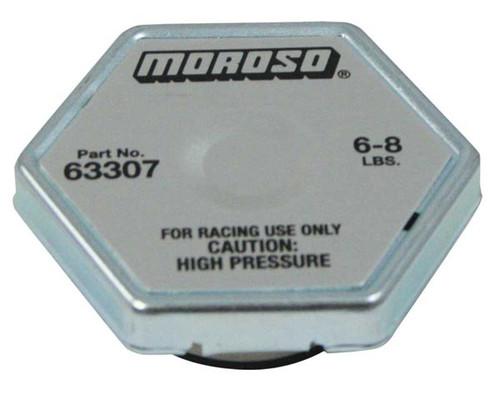 Moroso 63307 Racing Radiator Cap - 6-8 psi - Hex Head - Standard Size