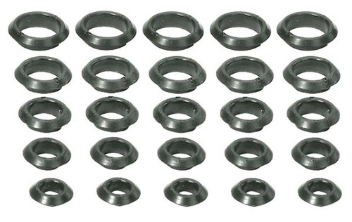 "Moroso 39050 Firewall/Panel Grommets - Set of 25 - 5 of Each Size - 1/2"" - 1"""