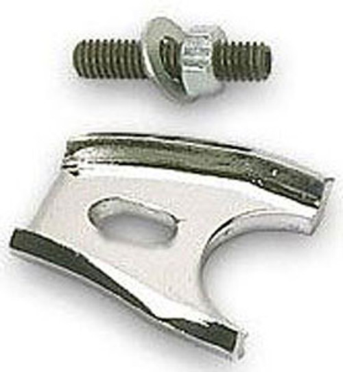 Moroso 26211 Distributor Hold Down Clamp - Ford Small Block - Chrome - With Stud