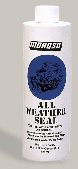 Moroso 35520 All Weather Engine Seal - Cooling System Sealer - 1 Pint