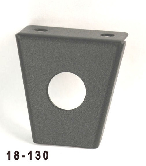 K4 Switches 18130 Steel Round Switch Panel - One Hole