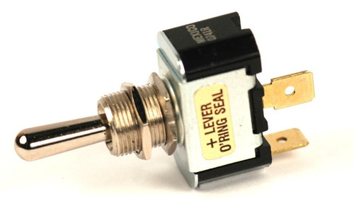 K4 Switches 12104 (On)-Off-(On) Momentary Single Pole Metal Lever Switch