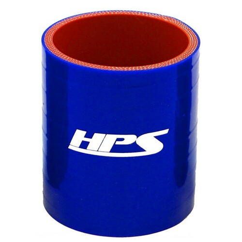"""HPS HTSC-325-BLUE 4 Ply Reinforced Silicone Hose Coupler 3.25"""" ID - 3"""" Long Blue"""