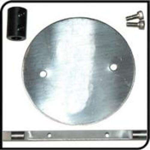 QTP 30KIT Replacement Butterfly Flap/Shaft for QTEC30 Electric Exhaust Cutout