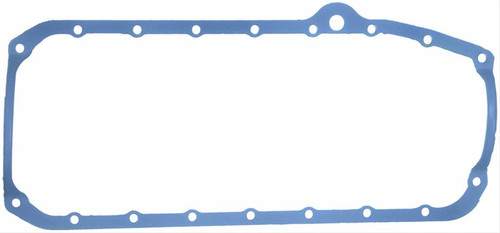 FelPro 1880 Oil Pan Gasket - 1 Piece Rubber Small Block Chevy 1975-1979