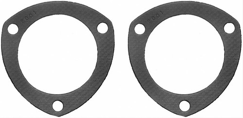 """FelPro 2001 Header Collector Gaskets - For 3"""" 3-Bolt Collector - Pair"""