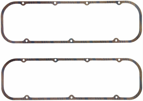 """FelPro 1630 Valve Cover Gaskets - Big Block Chevy - 5/16"""" Thick - Cork"""