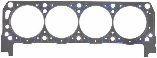 """FelPro 1006 Head Gasket - Small Block Ford - 4.145 Bore - 0.039"""" Thick Sold Each"""