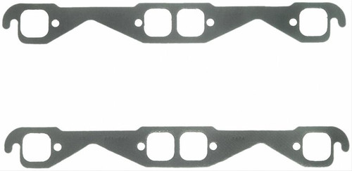 """FelPro 1405 Exhaust Header Gaskets - Small Block Chevy Small Square Port 1.55"""""""