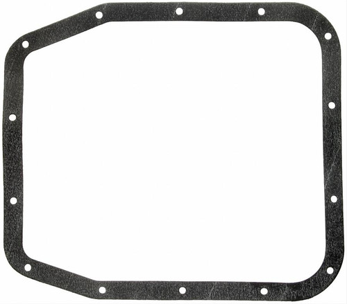 FelPro TOS18657 Transmission Pan Gasket - Ford AOD Overdrive w/ 14 Bolt Holes