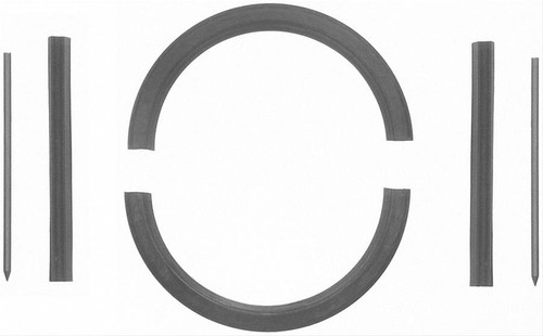 FelPro BS6141 Rear Main Seal Oldsmobile Small Block (Rope Replacement)1964-1990