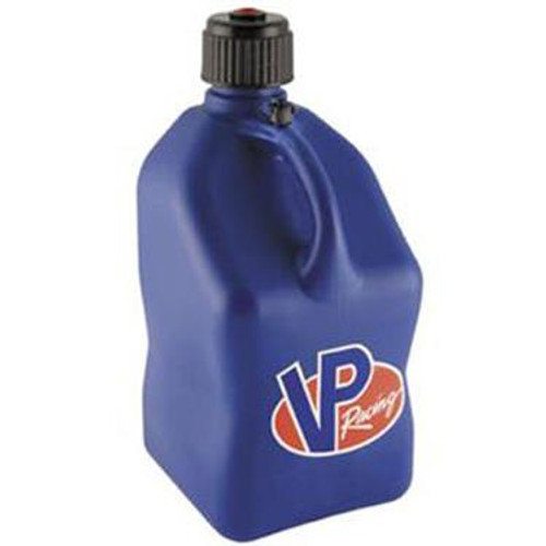 VP Racing Fuel 3532 Plastic Square Fuel Jug - Blue - 5 Gallon Capacity