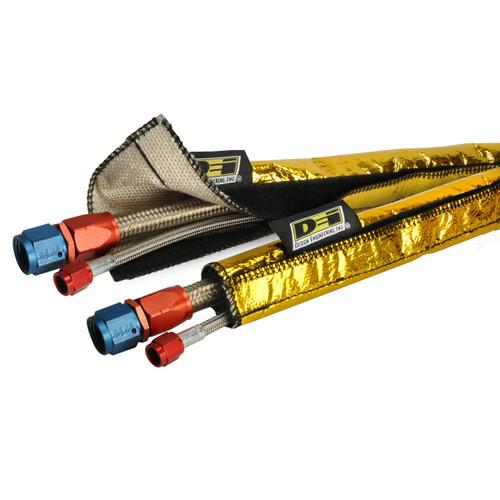 "Design Engineering DEI 010458 Heat Shroud GOLD™ : 1/2"" to 1-1/4"" I.D. x 3ft"