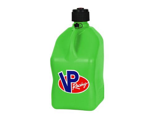 VP Racing Fuel 3562 Plastic Square Fuel Jug - Green - 5 Gallon Capacity